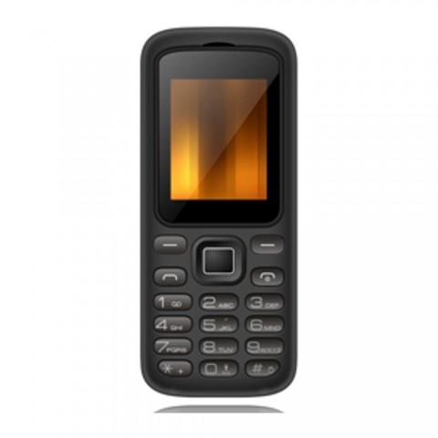 "Teléfono móvil QUBO GEA, pantalla 1.8"", color Negro"