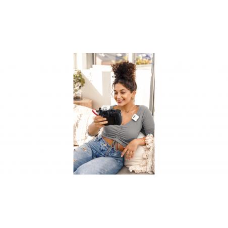 Micrófono Rode Wireless Go Compact Digital, color Blanco