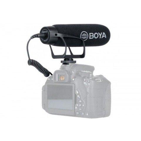 Micrófono cardioide BOYA BY-BM2021, cañón unidireccional