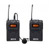 Micrófono inalámbrico BOYA BY-WM6 UHF, 100m alcance