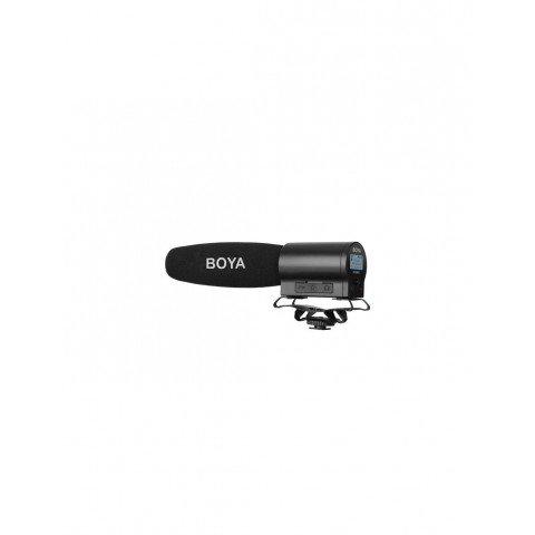 Micrófono de cañón grabador BOYA BY-DMR7