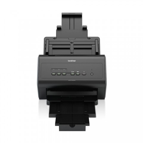 Escaner Brother ADS-2400N, dúplex, WiFi, 30ppm, 1200dpi, color Negro