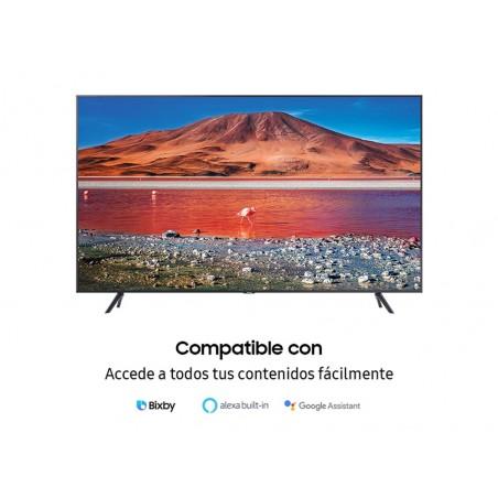 "Televisor LED 55"" Samsung TU7105K, UHD, Smart TV, 4K/HDR 10+ (HLG)"