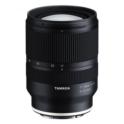 Objetivo TAMRON 17-28mm, f/2.8 Di III RXD para Sony E, color Negro