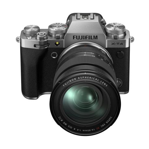 Cámara FUJIFILM XT-4 con Objetivo XF16-80mm, color Plata