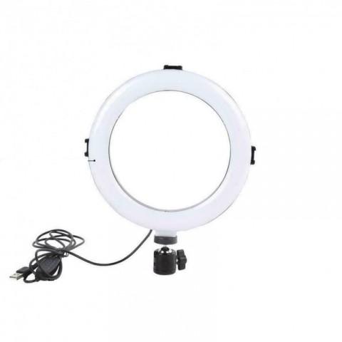 Anillo LED con trípode 20cm, 3200K A 5800K