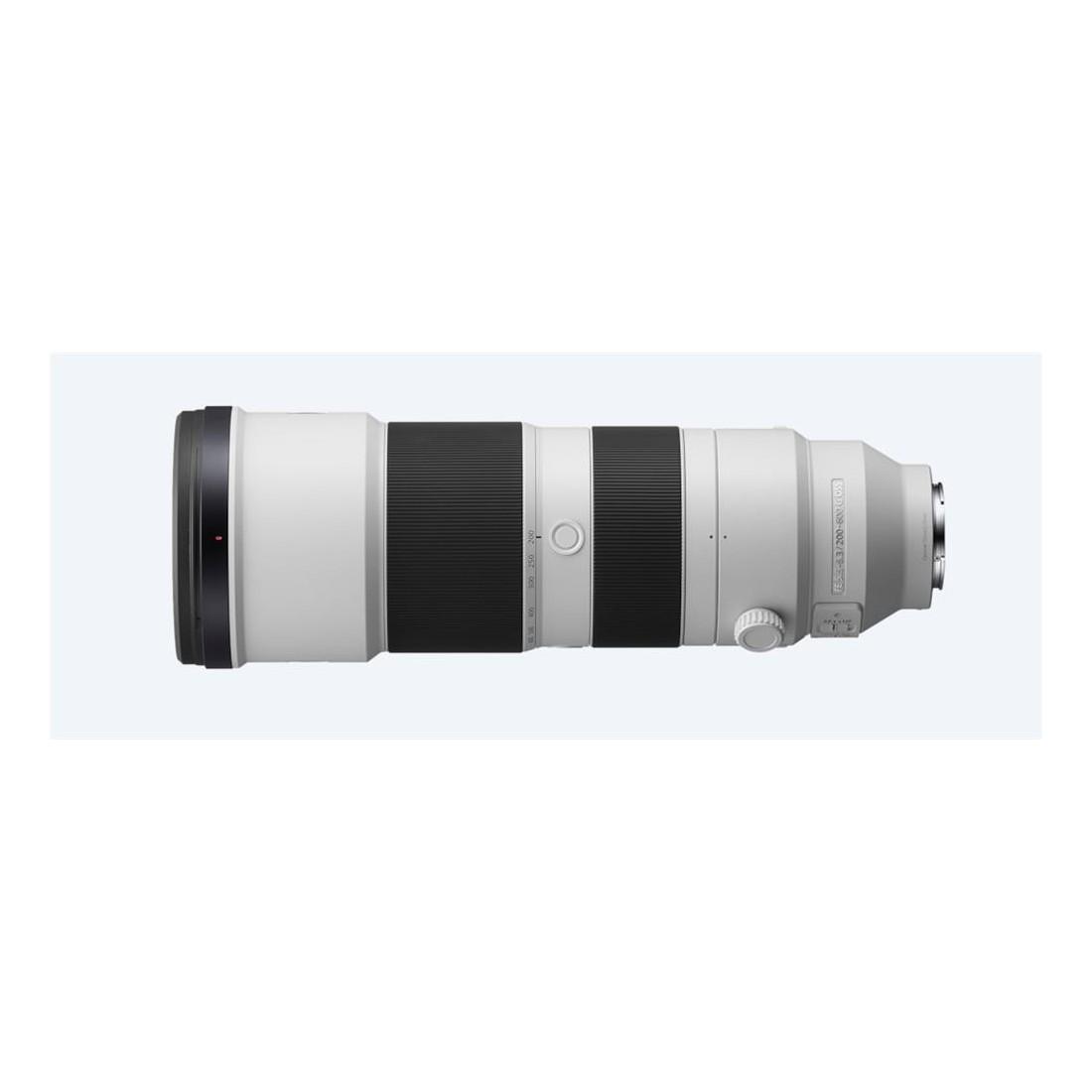 Objetivo Sony FE 200–600 MM F5.6–6.3 G OSS MILC, color Blanco