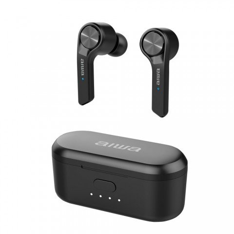 Auriculares inalámbricos AIWA TWS ESP-350BK, Bluetooth, color Negro