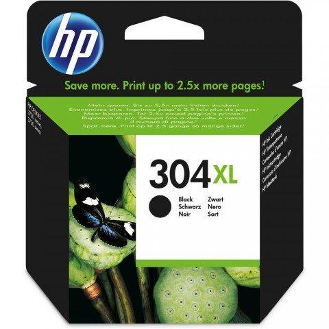 Cartucho de tinta HP 304XL Original, color Negro