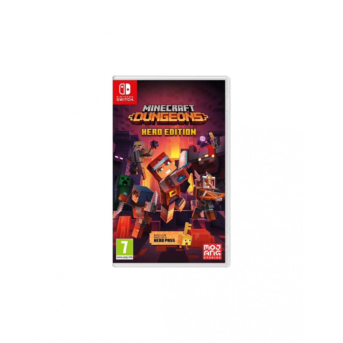 Minecraft: Dungeons Hero Edition para Nintendo Switch