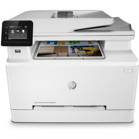 Impresora Laser HP Color LaserJet Pro M283fdn,600x600 DPI, 22 ppm A4, color Blanco