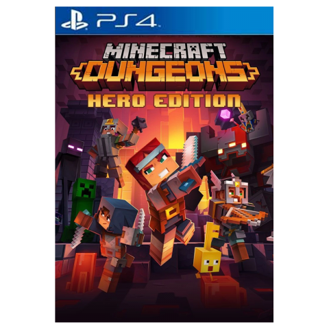 Minecraft Dungeons Hero Edition para Playstation 4