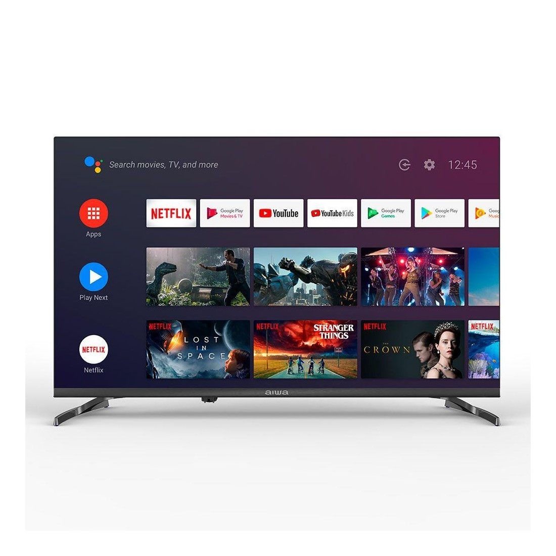 "Televisor LED 50"" LED506UHD, Smart TV, Android TV, 4K Ultra HD, color Negro"