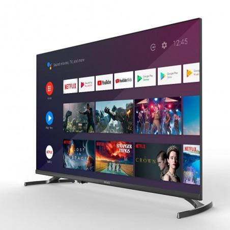 "Televisor LED 32"" AIWA LED326, HD, Smart TV, Android, color Negro"