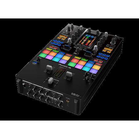 Mesa de mezclas Pioneer DJM-S11, 2 canales, pantalla táctil, color Negro