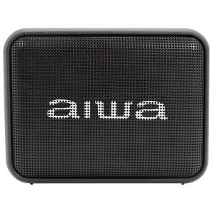 Radio portátil AIWA BS-200 TWS, 6W, USB, Radio, Bluetooth, color Negro