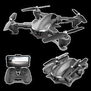 Drone INNJOO BLACKEYE, cámara 2Mpx, HD 720p, color Negro
