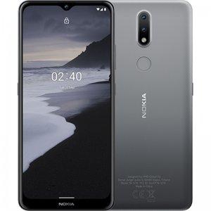 Smartphone NOKIA 2.4, 3Gb RAM, 64Gb memoria interna, Dual SIM, color Gris