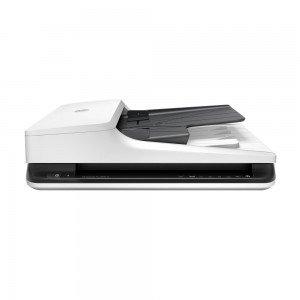Escáner HP Scanjet Pro 2500 F1, alimentador automático de documentos, 1200x1200 DPI A4, color Negro, Blanco