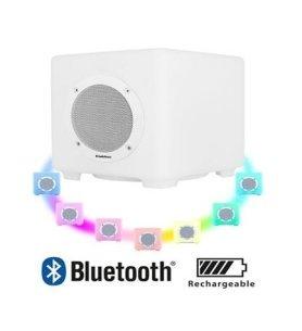 Audiosonic SK-1539 - Altavoz Bluetooth, 10w, iluminación en colores LED