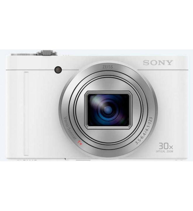 Sony DSC-WX500 - Cámara compacta con zoom óptico de 30X, color Blanco