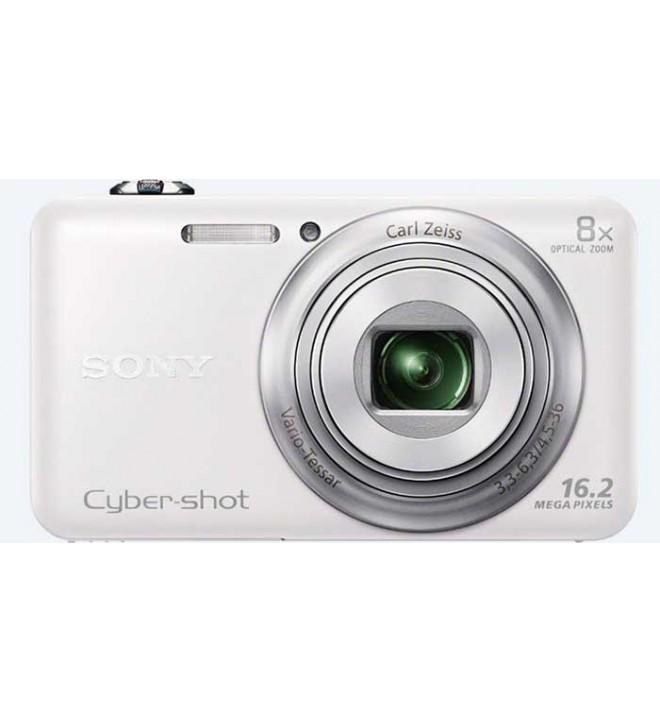 Sony DSC-WX80 - Cámara digital de fotos compacta, color Blanco
