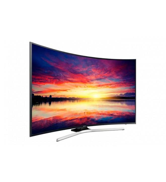 Samsung KU6100 - 55 pulgadas, Curvo, Smart TV, UHD, WiFi, 1400 Hz PQI, HDR Super, USB Grabador, (UE55KU6100KXXC)