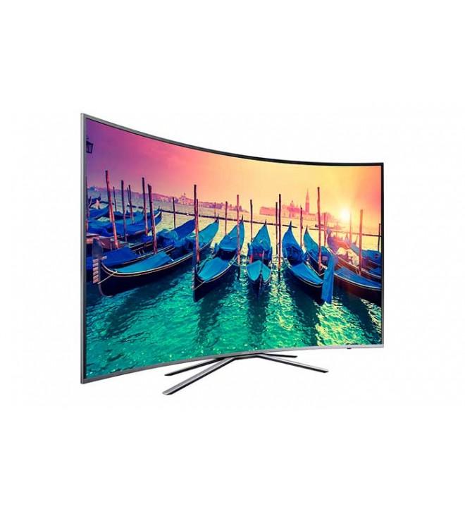 Samsung KU6500 - 65 pulgadas, Curvo, Smart TV, UHD, WiFi, 1600 Hz PQI, HDR Super, Satélite (UE65KU6500UXXC)