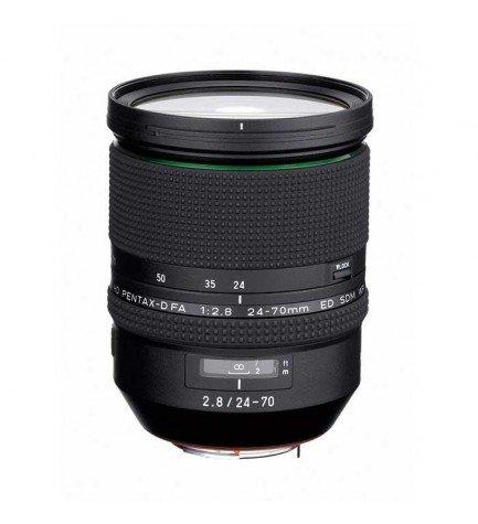 HD Pentax-D FA 24-70mm F/2.8 ED SDM WR - Objetivo con distancia mínima de enfoque de 0.38m, Zoom Lens