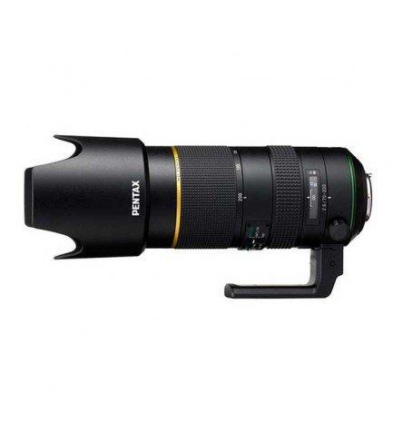 HD Pentax D-FA 70-200mm F/2.8 ED DC AW - Objetivo, distancia mínima de enfoque 1.2m, diametro del filtro 77mm