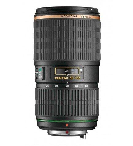Pentax SMC DA 50-135mm F/2.8 ED [IF] SDM - Objetivo con distancia focal 50-135mm, diámetro: 67mm, color Negro