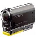 Sony HDR-AS20 - Cámara de acción con WiFi, resolución 11.9 Mpx, sumergible hasta 5 m con la funda, lente ultra gran angular 170º