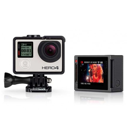 GoPro Hero 4 Music - Cámara de acción, incluye Carcasa estándar, 4K, sumergible 40m, WiFi, Bluetooth, color Negro