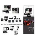 GoPro Hero 4 Music - Cámara de acción, incluye Carcasa estándar, 4K, sumergible 40m, WiFi, Bluetooth, color Negro