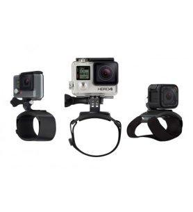 Soporte GoPro AHWBM001 - (Soporte para colocar la cámara GoPro en la mano, Muñeca, Brazo, Pierna)