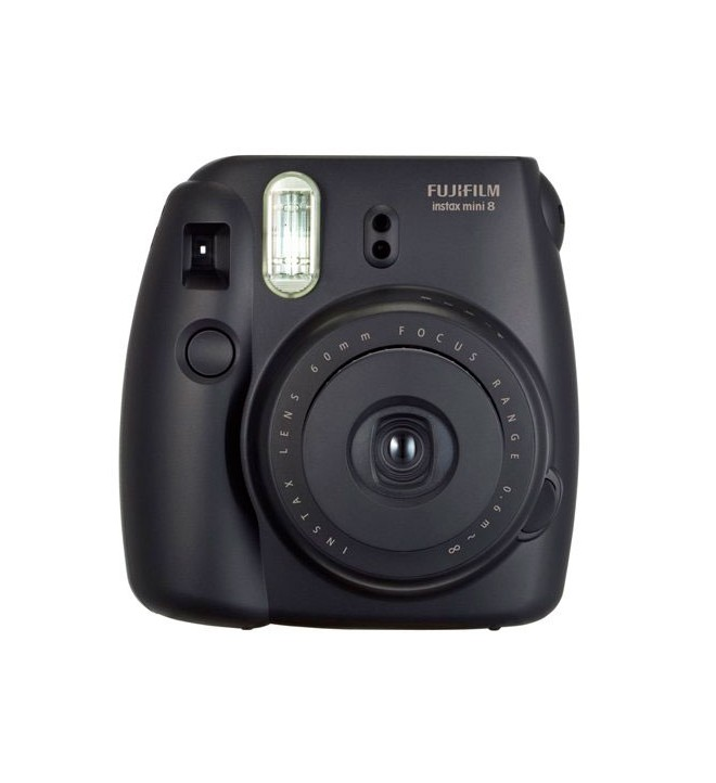 Fujifilm Instax Mini 8 - Cámara instantánea, color Negro