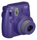 Fujifilm Instax Mini 8 - Cámara instantánea, flash incorporado, color Uva