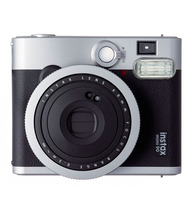 Fujifilm Instax Mini 90 Neo Classic - Cámara instantánea, color Negro