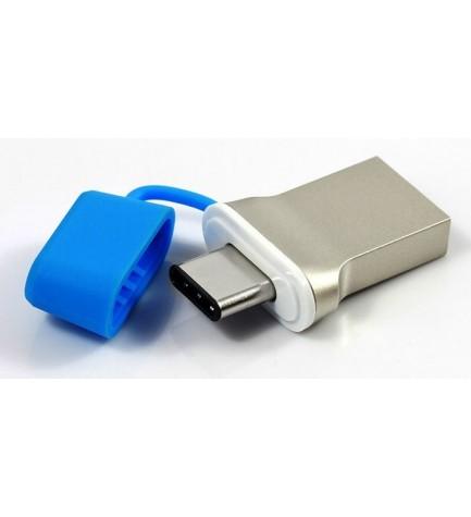 GOODRAM DUAL DRIVE 3.0 – Dual Interface USB. 16 GB. Terminales tipo A y tipo C. Tamaño pequeño. Alta velocidad. READY BOOS.