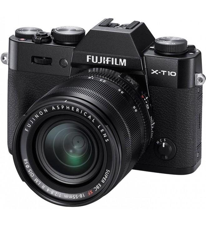 Fujifilm X-T10 + 18-50mm + 50-230mm - Cámara sin espejo, 16.3 Mpx, ligero y compacto, color Plata