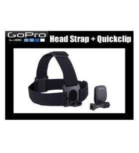 GOPRO ACHOM-001 Head Strap + QuickClip - Cinta para la cabeza
