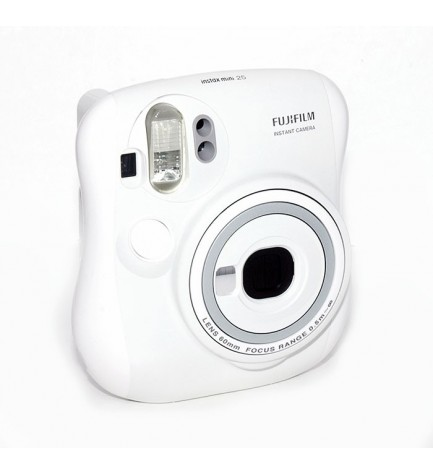 Fujifilm Instax Mini 25 - Cámara instantánea, color Blanco