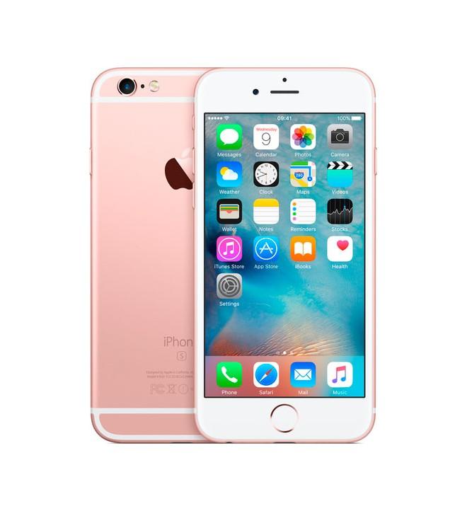 "Apple iPhone 6S - Smartphone 16GB, 4.7"", 3D Touch, 12Mpx, Grabación Ultra HD, funda regalo, color Oro Rosa"