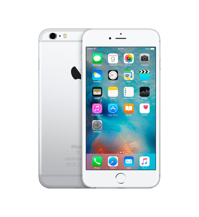"Apple iPhone 6S Plus - Smartphone 64GB, 5.5"", 3D Touch, 12Mpx, Grabación Ultra HD, funda regalo, color Plata"