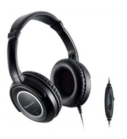 Pioneer SE-M631TV - Auriculares TV, 5 metros de cable, audio alta calidad, totalmente cerrados, color Negro
