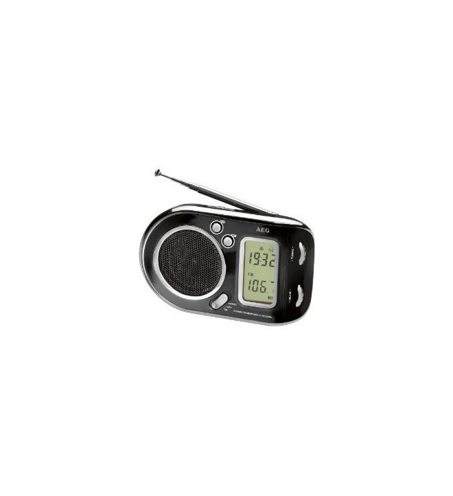 AEG WE 4125 - Radio digital, color Negro