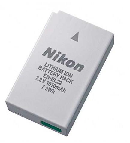 Nikon EN-EL22 - Batería de litio, compatible con cámaras Nikon 1