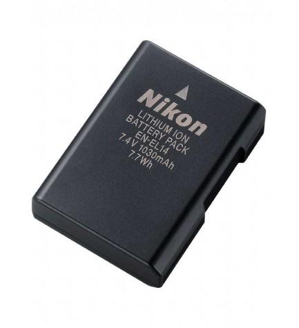 Nikon EN-EL14 - Batería recargable, compatible con cámaras Nikon