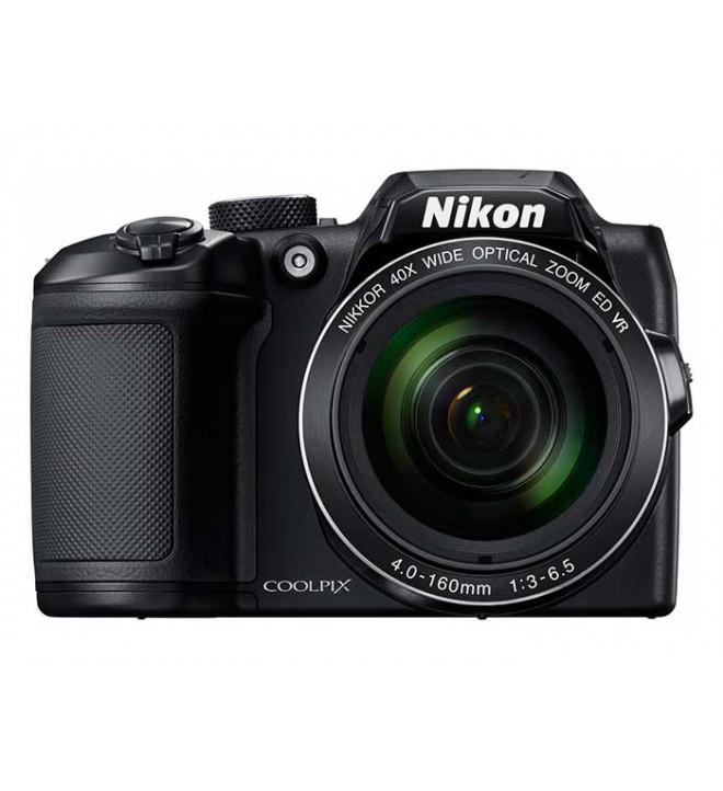 Nikon COOLPIX B500 - Cámara compacta, 16 Mpx, Full HD 30fps, color Negro