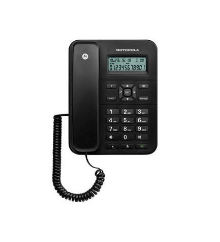 MOTOROLA CT202 - Manos libres, ahorro energético, pantalla amplia, color Negro